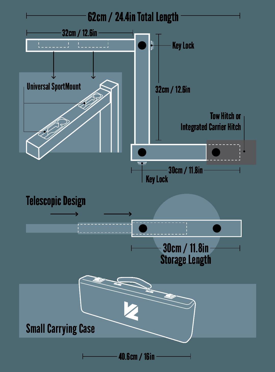 Versalink Size Specifications